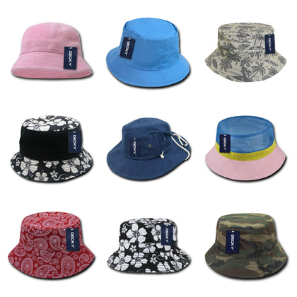 blank & custom bucket hats (embroidered), bulk & wholesale bucket hats, promotional bucket hats, & custom hat embroidery