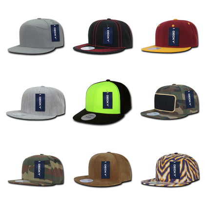 ea3b80da75557 Wholesale bulk blank & embroidered snapback hats and flat bill caps. We  also offer promo