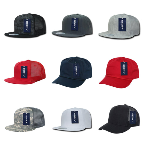 blank & custom 5 panel hats (embroidered), bulk & wholesale 5 panel hats, promotional 5 panel hats, & custom hat embroidery