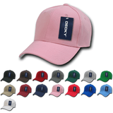 Wholesale Blank Fitted Baseball Hats (7 1/4 - 7 5/8) - Decky 402