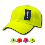 Wholesale Blank Neon Baseball Dad Caps - Decky 761