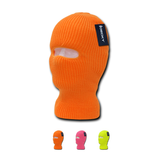 Wholesale Blank Kids' Youth Neon Ski Masks (1-Hole) - Decky 9051