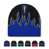 Wholesale Kids' Youth Knit Beanies Fire Flame - Decky 9055