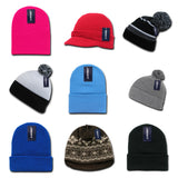 Wholesale Bulk Blank Beanies and Knit Caps
