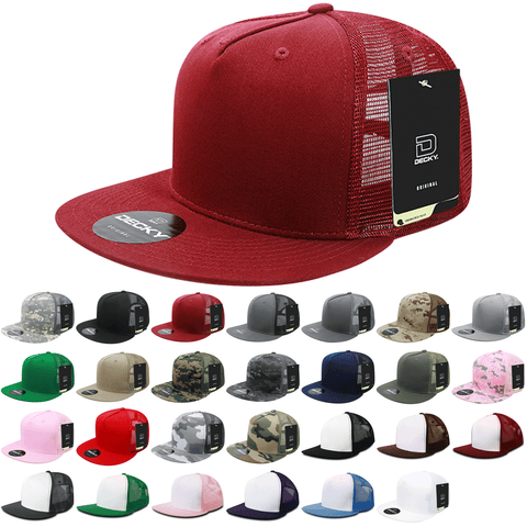 Wholesale Snapback Hats in Bulk - Blank or Embroidered