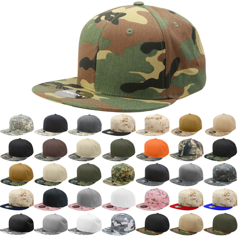 Wholesale Blank Digital Camo Flat Bill Snapback Hats - Decky 1047 ... 888637395c3