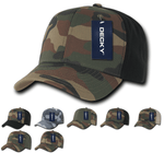 Camo Baseball Cotton Hats - Decky 1048