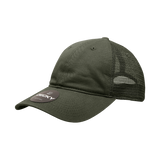 Blank Relaxed Trucker Hats, Baseball Caps with Mesh Back - Decky 120