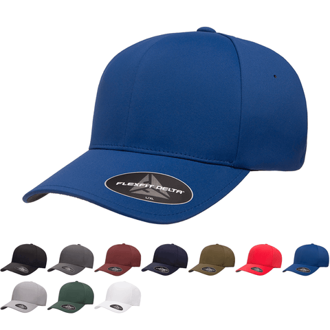 Flexfit 180 Delta Hat, Baseball Cap