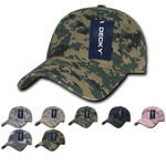 Camo Baseball Relaxed Dad Hats - Decky 216