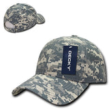Structured Ripstop Baseball Hats - Decky 240