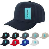 Blank Structured Baseball Hats - Decky 306