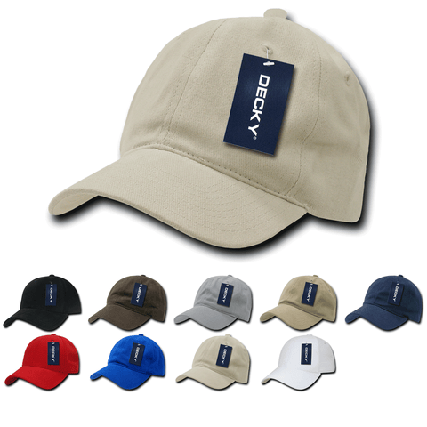 Cotton Dad Hats Relaxed Baseball Caps - Decky 307