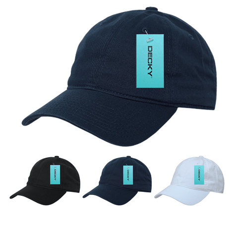 Dad Hat 100% Cotton Baseball Cap - Decky 363