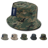 Camo Fisherman's Bucket Hat Camouflage - Decky 450