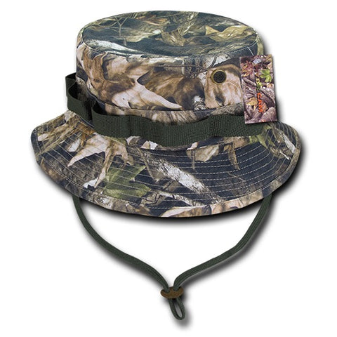 Military Boonie Hat Hybricam Camo Tactical Bucket Hat - Rapid Dominance 46