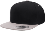 Yupoong 6007T 5-Panel Cotton Twill Snapback Cap