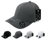 Dimple Pattern Flex Baseball Cap - Golf & Spots Cap - Decky 6202
