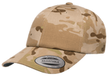 Yupoong 6245MC MultiCam Camo Dad Cap, Relaxed Baseball Cap, Camouflage