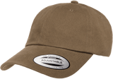 Yupoong 6245PT Peached Cotton Twill Dad Cap