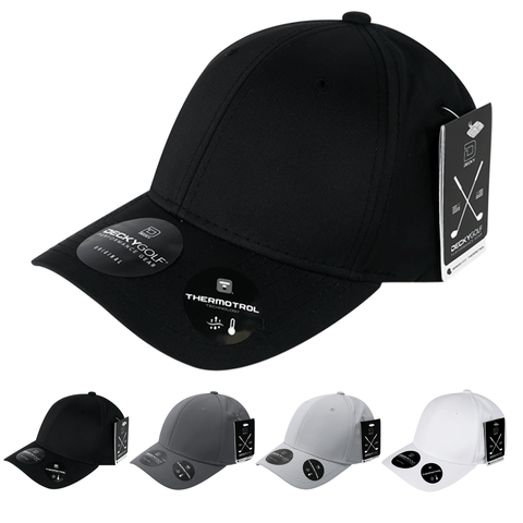 Sleek H20 Flex Baseball Hat - Golf & Sports Cap - Decky 6402