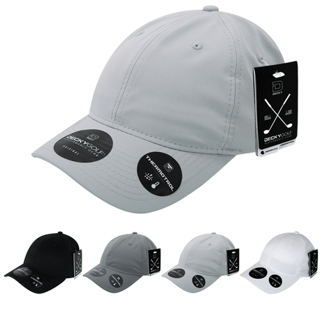 Sleek H20 Relaxed Baseball Hat - Golf & Sports Cap - Decky 6405