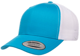 Yupoong 6606T Retro Trucker Hat, Baseball Cap with Mesh Back, 2-Tone Colors