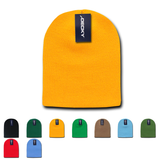 USA Made Knit Beanies (Short - no cuff) - Decky 684