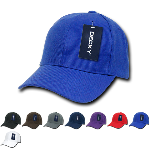 Blank Kids' Youth Baseball Hats - Decky 7001