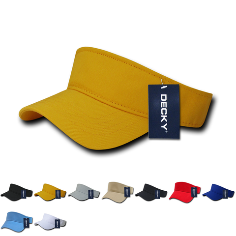 Blank Kids' Youth Visors - Decky 7007