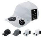 Grid H20 7-Panel Baseball Hat - Golf & Sports Cap - Decky 7111