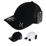 Screen Fabric Relaxed Baseball Hat - Golf & Sports Cap - Decky 8105