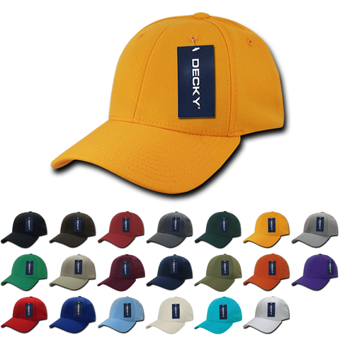 Blank Flex Baseball Hats - Decky 870