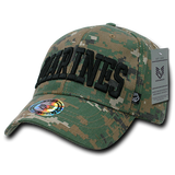 United States Marine Corps Digital Camo Hat, USMC Baseball Cap, US Marines Hat - Rapid Dominance 943