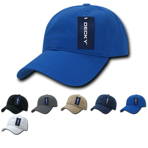 Blank Premium Polo Dad Hats - Decky 958