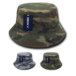 Camo Polo Bucket Hats Camouflage - Decky 961