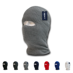 Lot of 12 Decky Face Masks (1-Hole) Ski Mask Balaclava Cover Bulk