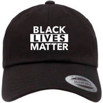 Black Lives Matter Dad Hat, Embroidered Baseball Cap, BLM Hat, Decky Hat