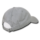 California Map Baseball Cap Dad Hat, Grey