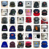 Lot of 12 Decky 6-Panel Trucker Flat Bill Snapback Hats Mesh Bulk