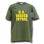 Border Patrol T-Shirt, US Customs and Border Protection Shirt, Law Enforcement T-Shirt - Rapid Dominance J25