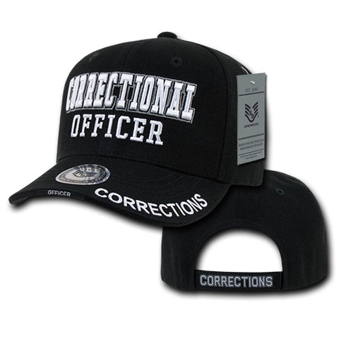 Correctional Officer Hat Corrections Baseball Cap Prisons Parole - Rapid Dominance JW