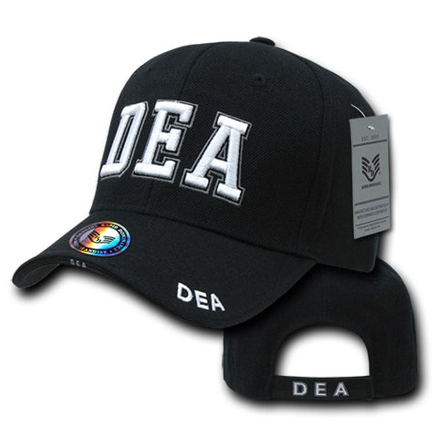 DEA Hat Drug Enforcement Administration Baseball Cap - Rapid Dominance JW