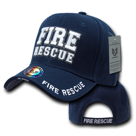 Fire Rescue Hat Firefighter Baseball Cap Fire Department - Rapid Dominance JW