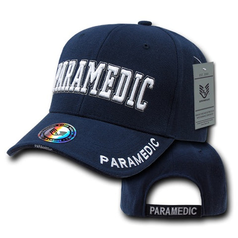 Paramedic Hat Emergency Medical Services EMS Baseball Cap - Rapid Dominance JW