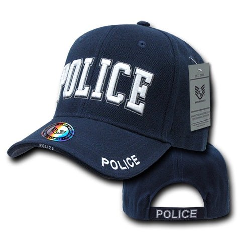 Police Hat Law Enforcement Baseball Cap Officer Cop - Navy - Rapid Dominance JW