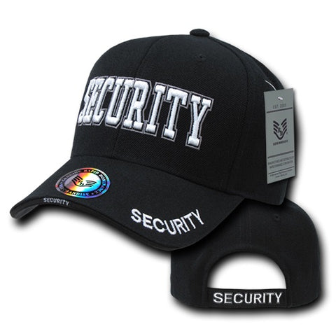 Security Hat Guard Baseball Cap Public Safety - Rapid Dominance JW