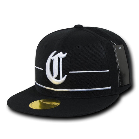 Compton City Snapback Flat Bill Hats, Flip Side