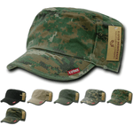 GI Cap BDU Fatigue Hat Zipper Military Patrol Cap - Rapid Dominance R05