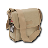 Rapid Dominance Military Field Bag, Tactical Shoulder Bag, Canvas Army Bag - R34